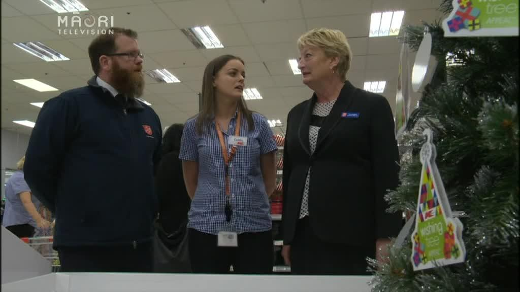 Video for Christmas gift donations scarce in South Auckland