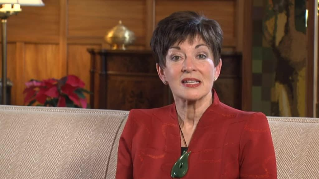 Video for Governor General Dame Patsy Reddy - 2017 New Year message
