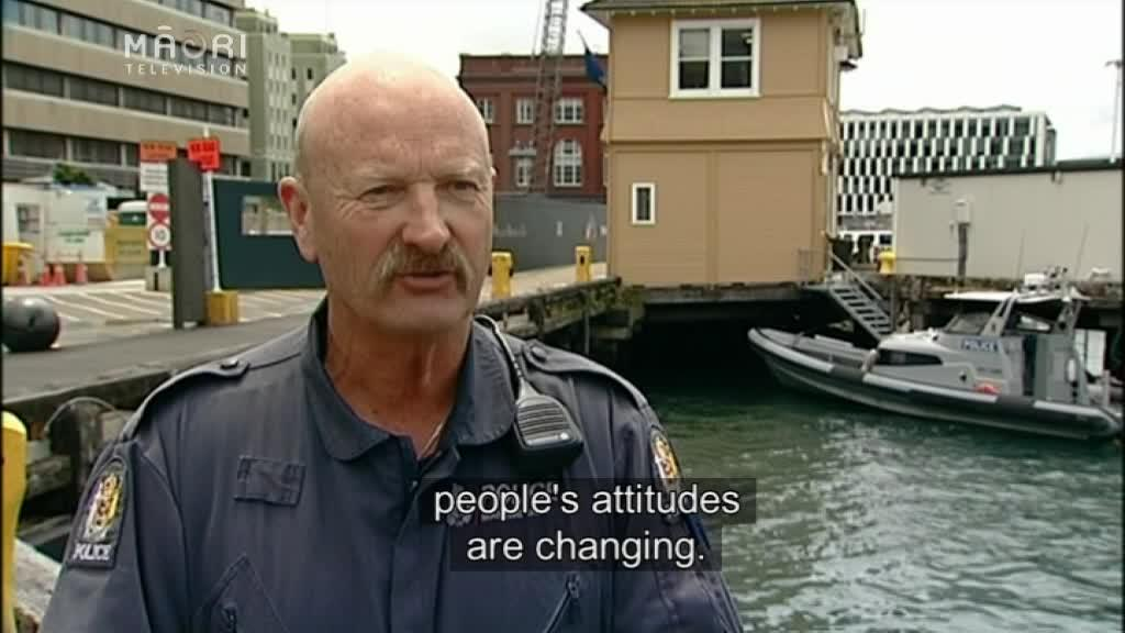 Video for Maritime Police issue safety reminders to divers
