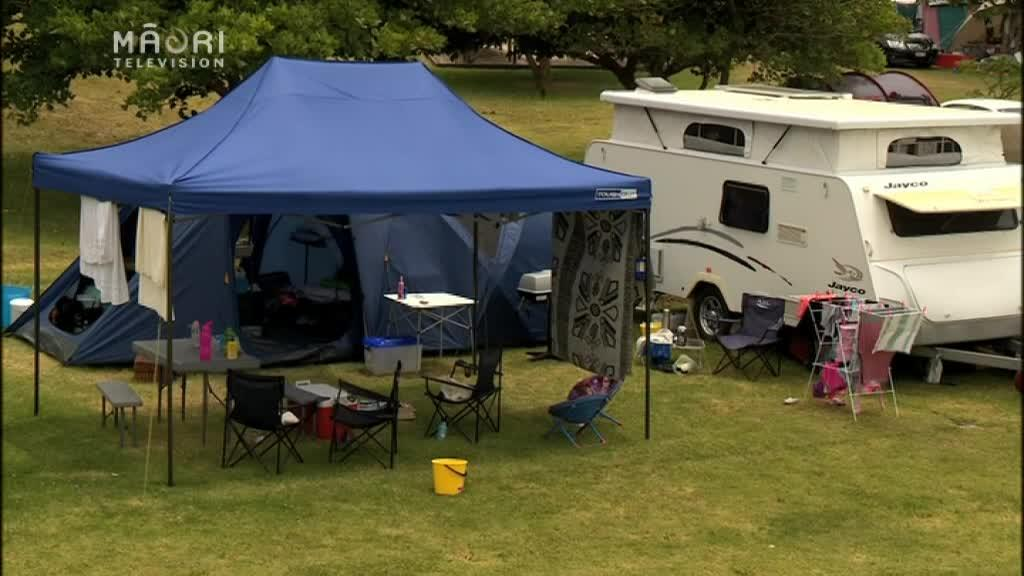 Video for Iwi and Holiday Park in dispute over land in Perehepi Bay