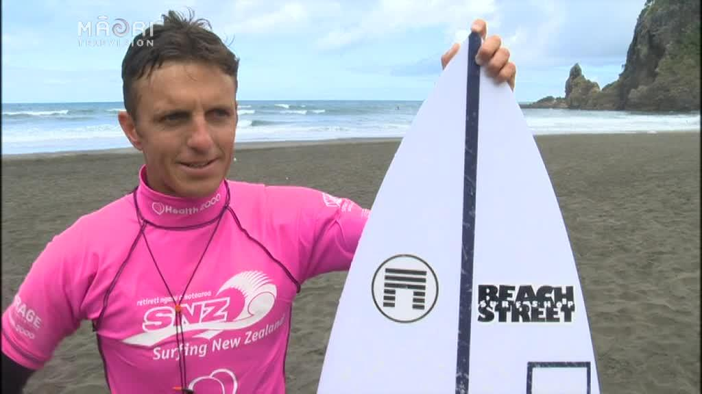 Video for Malone to challenge incumbent at the National Surfing Champs