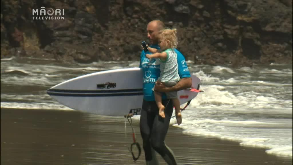 Video for Māori surf their way to success at NZ Surfing Nationals