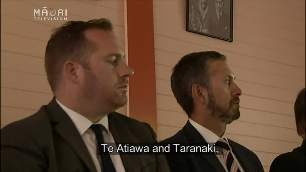 Video for Taranaki iwi Ngāti Maru begins Crown settlement process