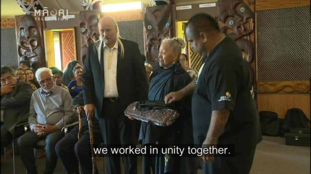 Video for Tāmaki iwi renew covenant ties to settle claims