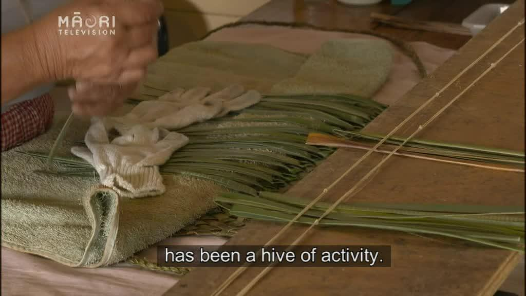 Video for Weavers make 200 kākāhu for Te Matatini pōhiri