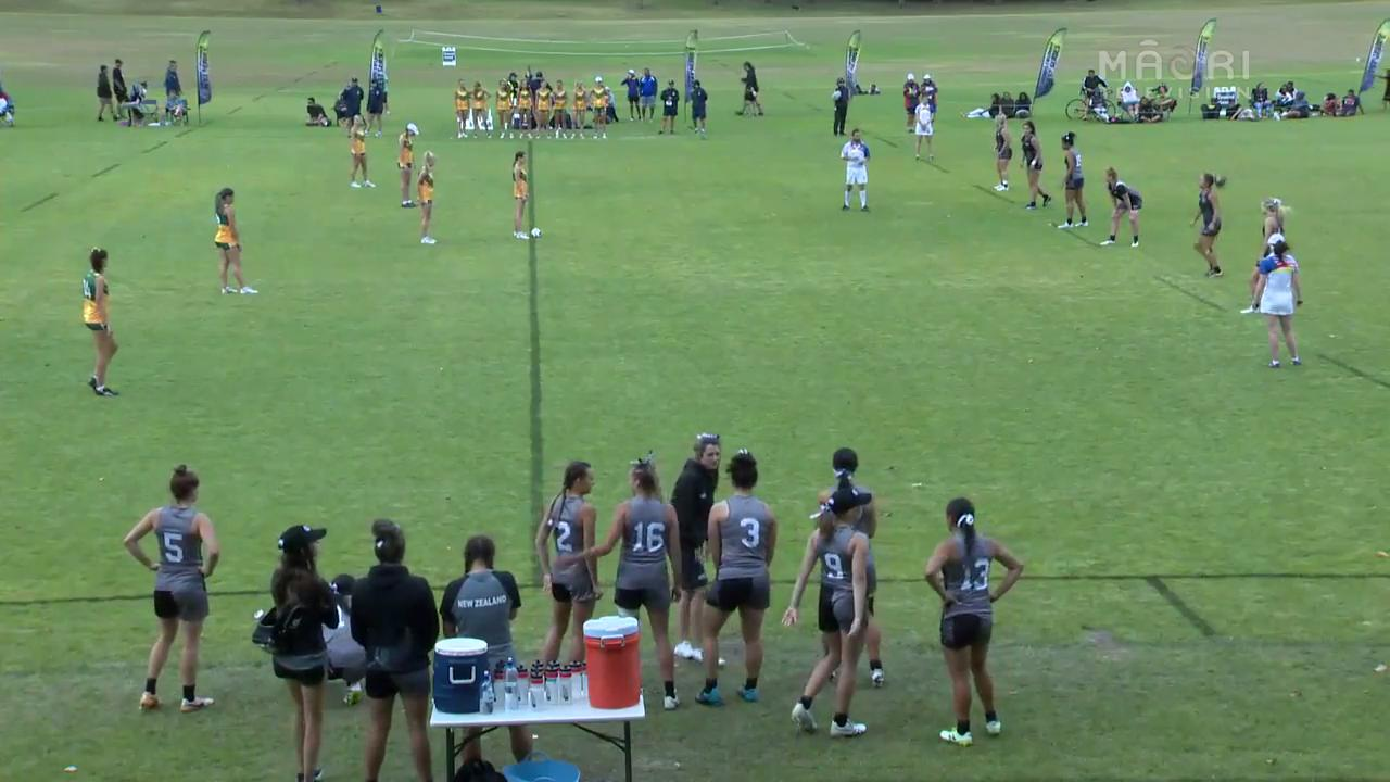 Video for Youth Trans-Tasman Touch 2017 - 20 Women, Match 2