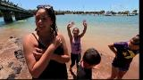 Video for Mean bombs from the bridge at Waitangi