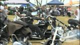 Video for Over 500 bikers ride Waikato roads against suicide