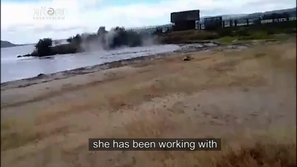 Video for Ohinemutu resident fears for safety after hydro-thermal eruption