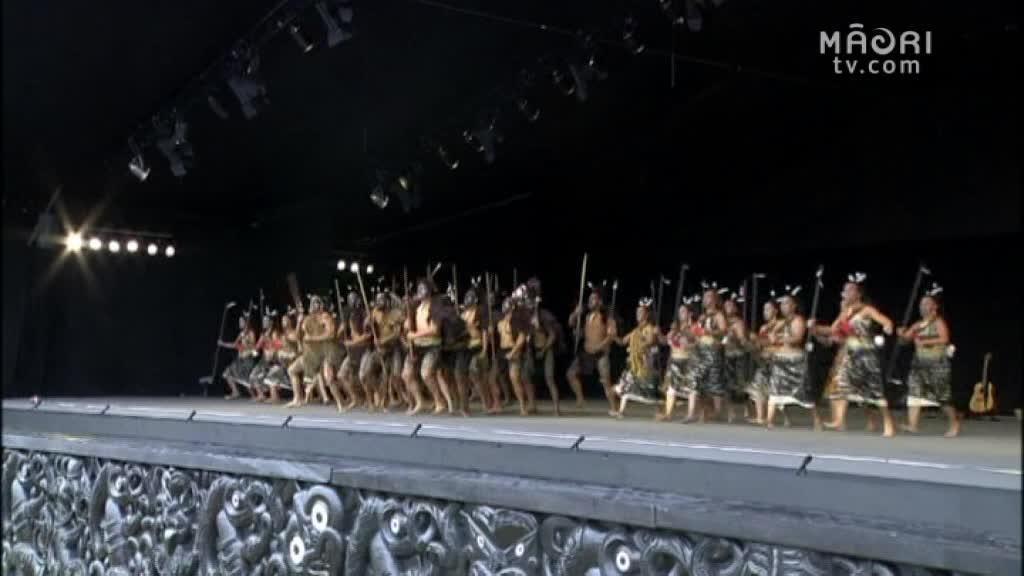 Video for Tuhourangi and Tauira Mai Tawhiti return to Matangirua.