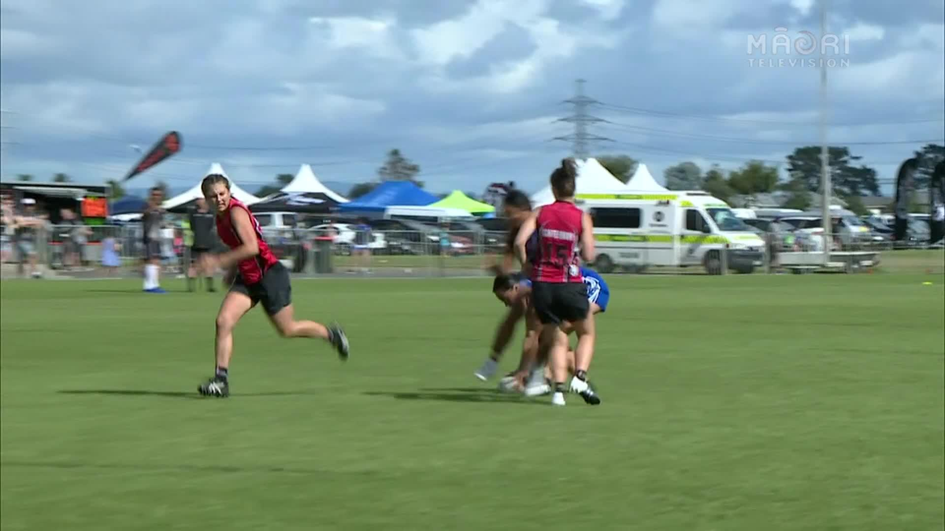 Video for E Tū Whānau Touch Championships 2017 - Auckland v Canterbury