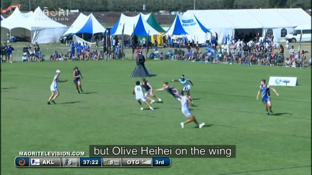 Video for Nail biting finishes to Open Mixed and Men's National Touch Finals