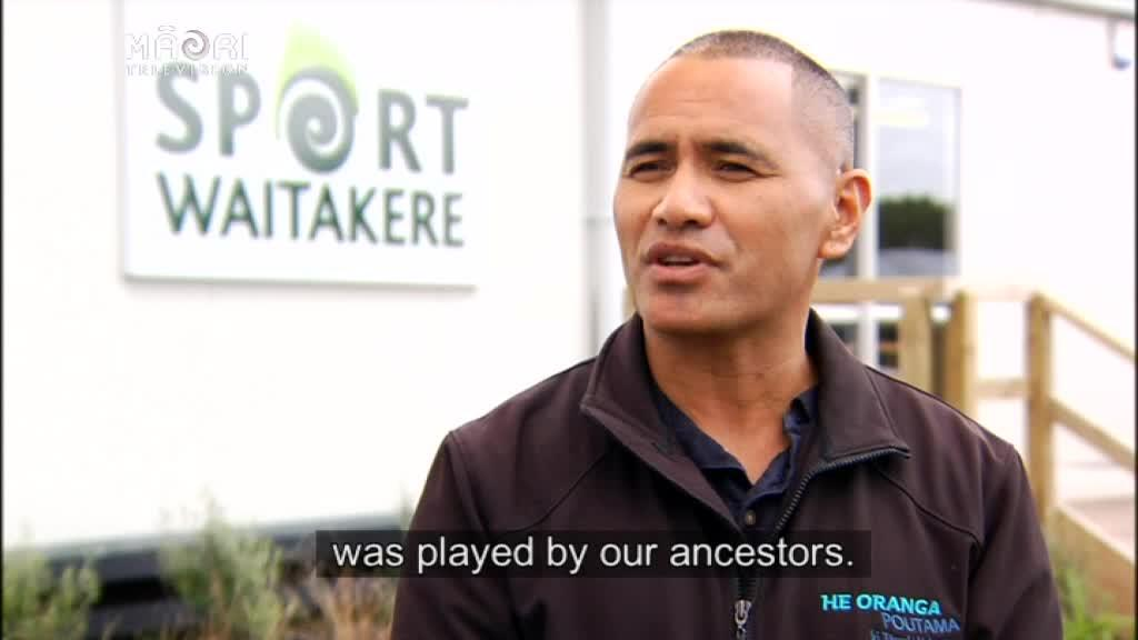 Video for Traditional games introduced at Iwi sports day