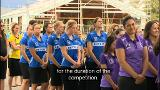 Video for NZ's top teams mix netball with Māori culture