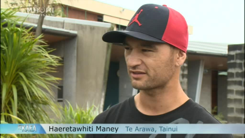 Video for Men 'Man Up' for whānau at Tū Tangata programme