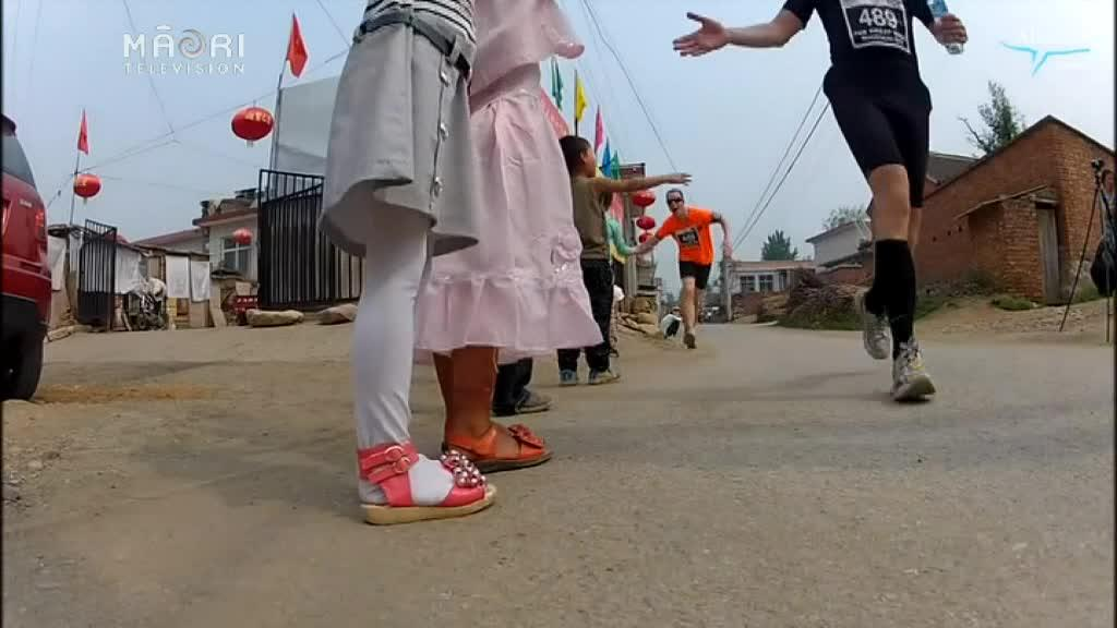 Video for Māori contingent takes on the Great Wall of China marathon