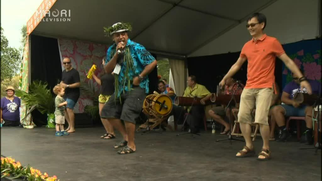 Video for Good vibes and good times at 25th Pasifika Festival