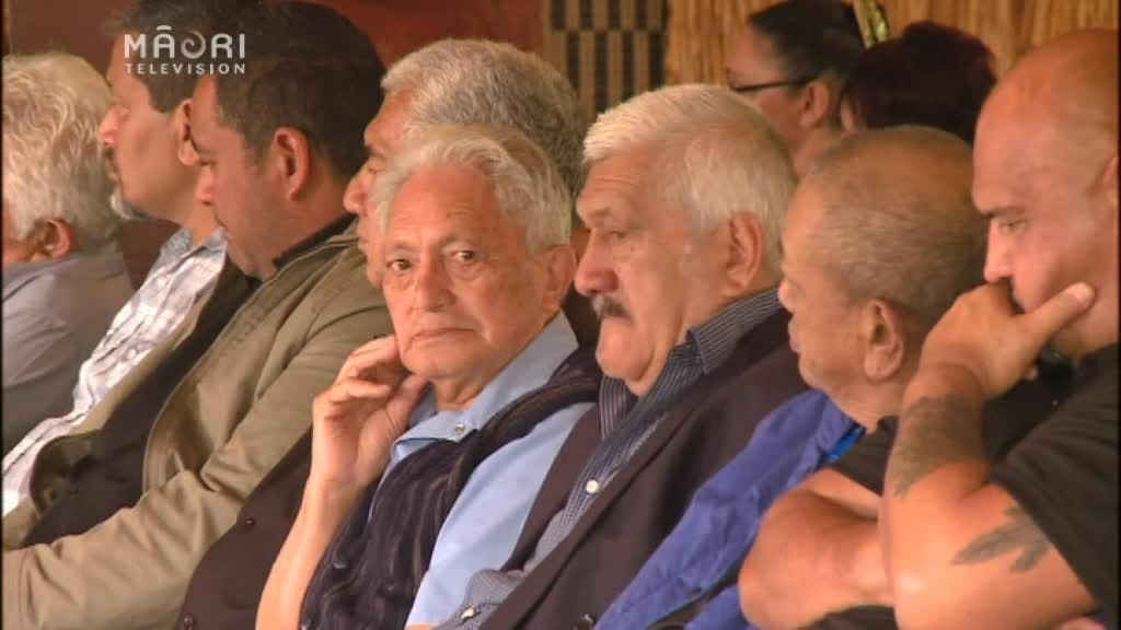 Video for Crowds gather to mourn Pa Henare Tate
