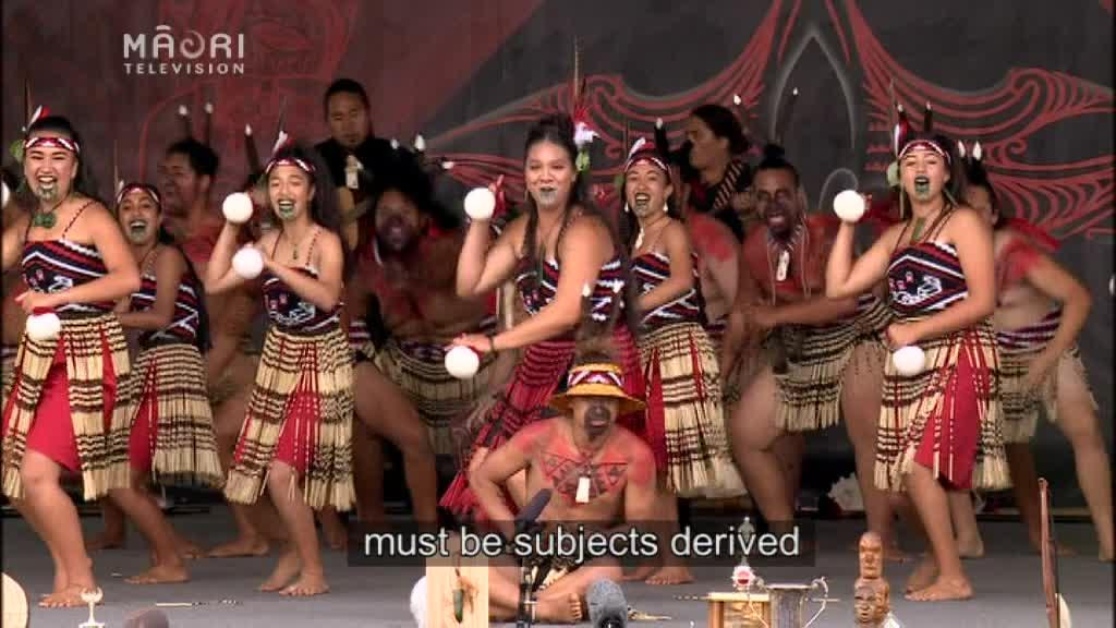 Video for Calls for Kapa Haka to become University Entrance subject