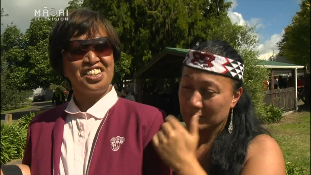 Video for Colourful final tribute by Taniwharau for beloved leader