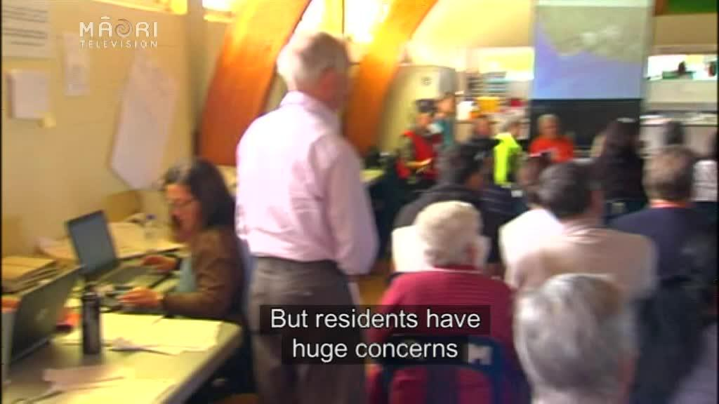 Video for Edgecumbe residents have huge concerns about looting