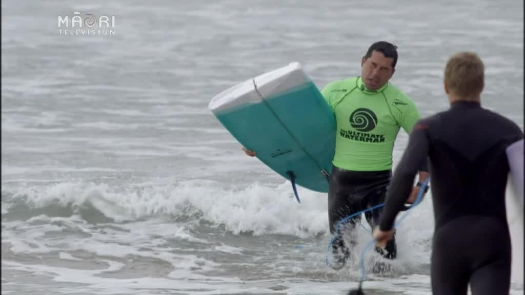 Video for Hawaii's Zane Kekoa-Schweitzer takes out this year's Ultimate Waterman