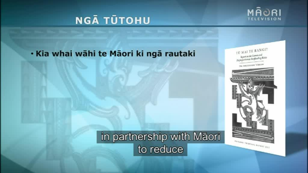 Video for Report reveals immediate action needed for Māori reoffending