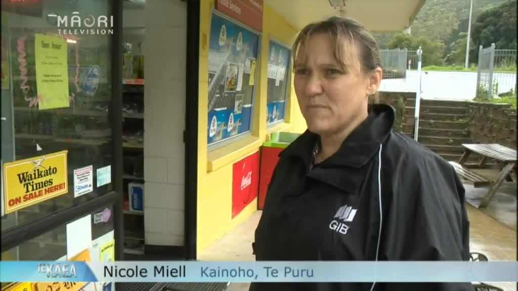 Video for Coromandel residents brace themselves for Cyclone Cook