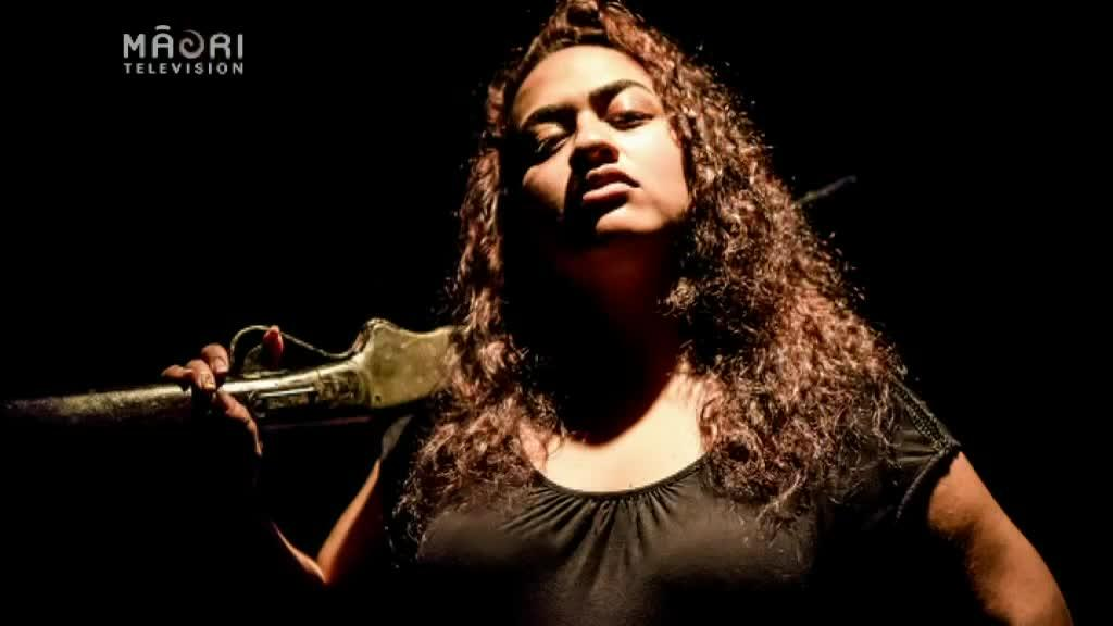 Video for Modern Māori language hits theatre stage