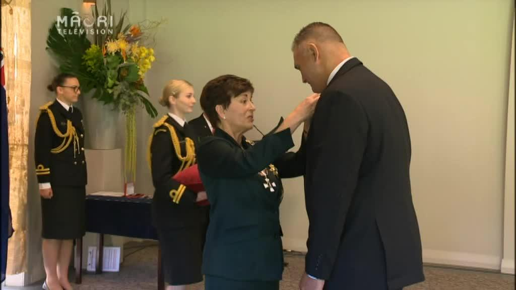 Video for World Champion woodchooper receives NZ Order of Merit