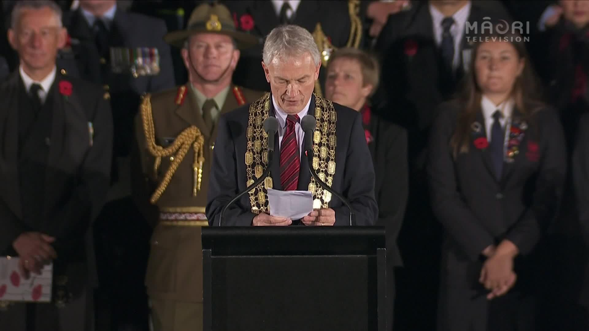 Video for Auckland Dawn Service