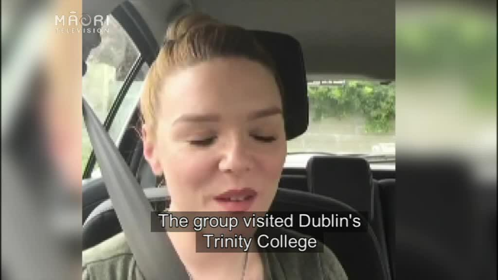 Video for Panekiretanga students learn about Irish language methods