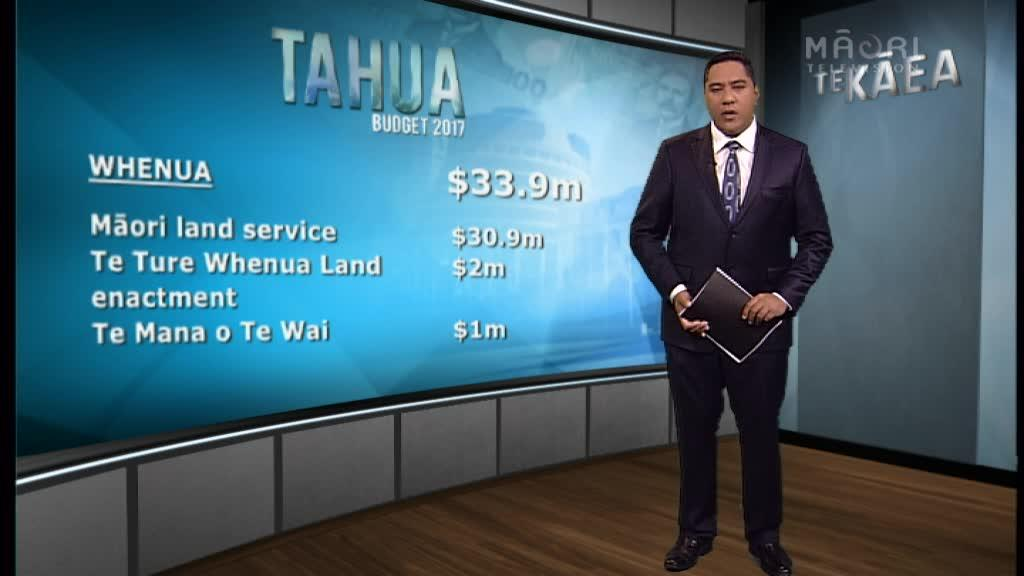Video for TAHUA 2017: TE KĀEA Budget Special 2:50pm