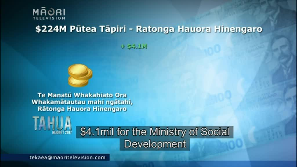 Video for TAHUA 2017: Fears budget won't meet mental health needs
