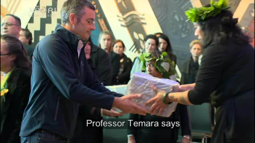 Video for  Moriori and Māori ancestors remains returned