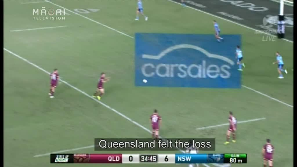 Video for NSW defeat Queensland in Game 1 of the 2017 State-of-Origin league series