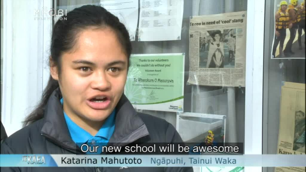 Video for Te Wharekura o Manurewa overjoyed for new school