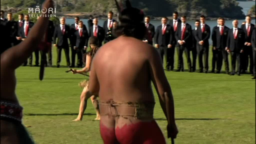 Video for British & Irish Lions welcomed at Waitangi