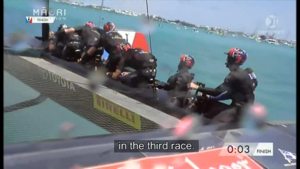 Video for Emirates Team NZ take 3-0 lead over Oracle Team USA