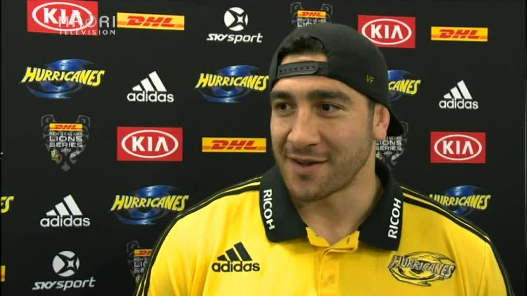 Video for Hurricanes name strong back-line for Lions