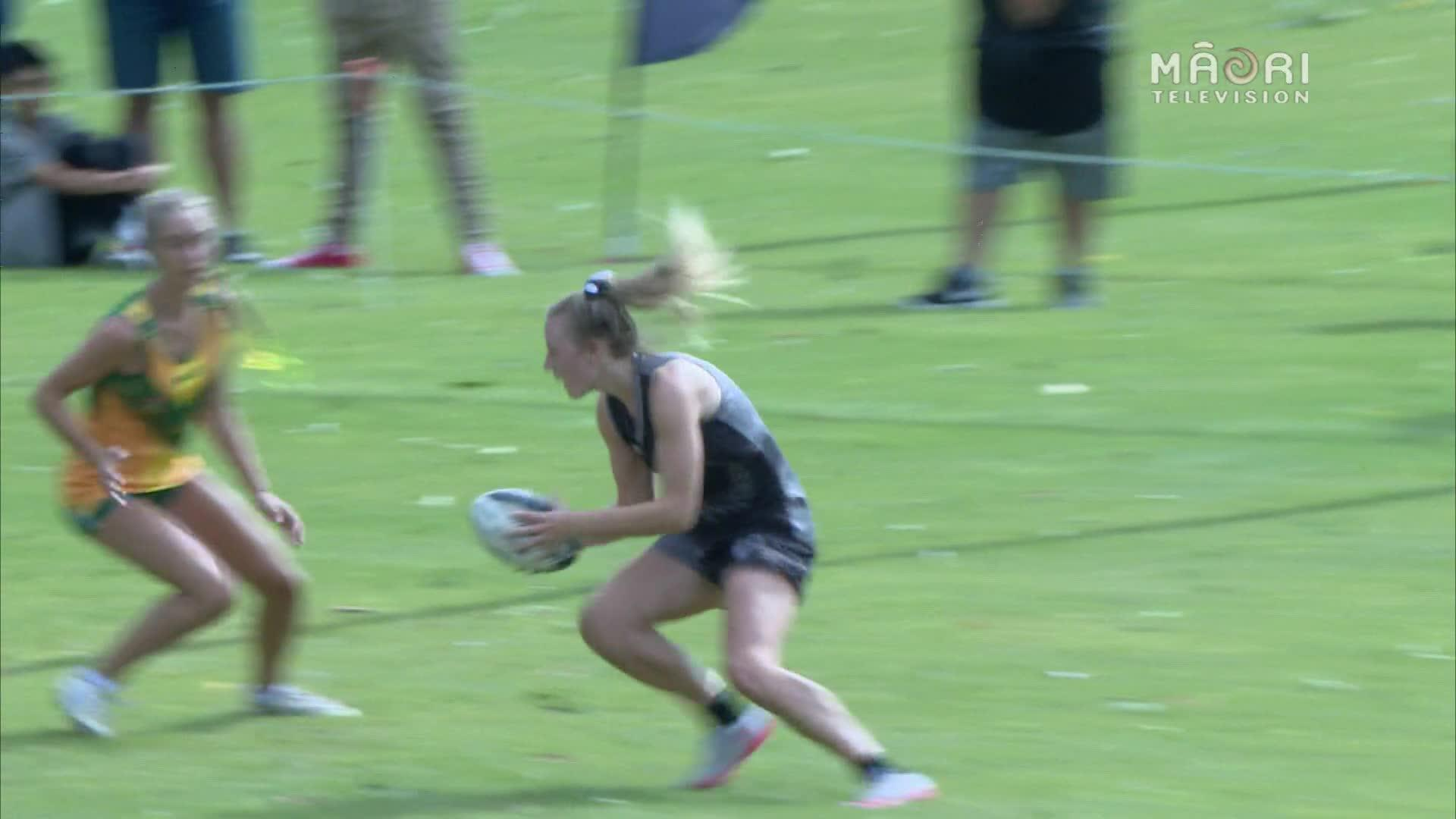 Video for Youth Trans-Tasman Touch 2017, U18 Girls (3rd test)