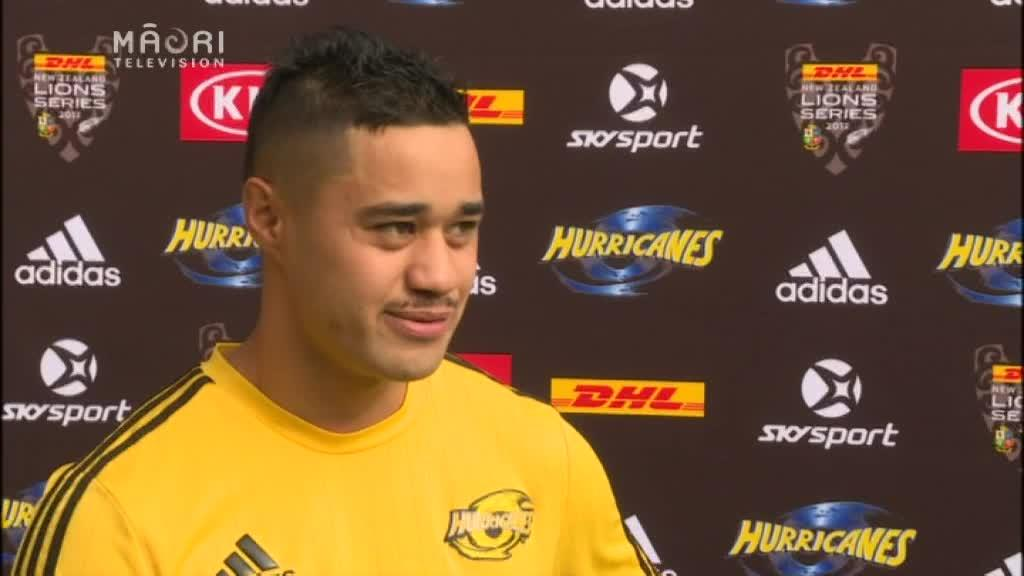 Video for Hauiti-Parapara debutes with Hurricanes in Lions match