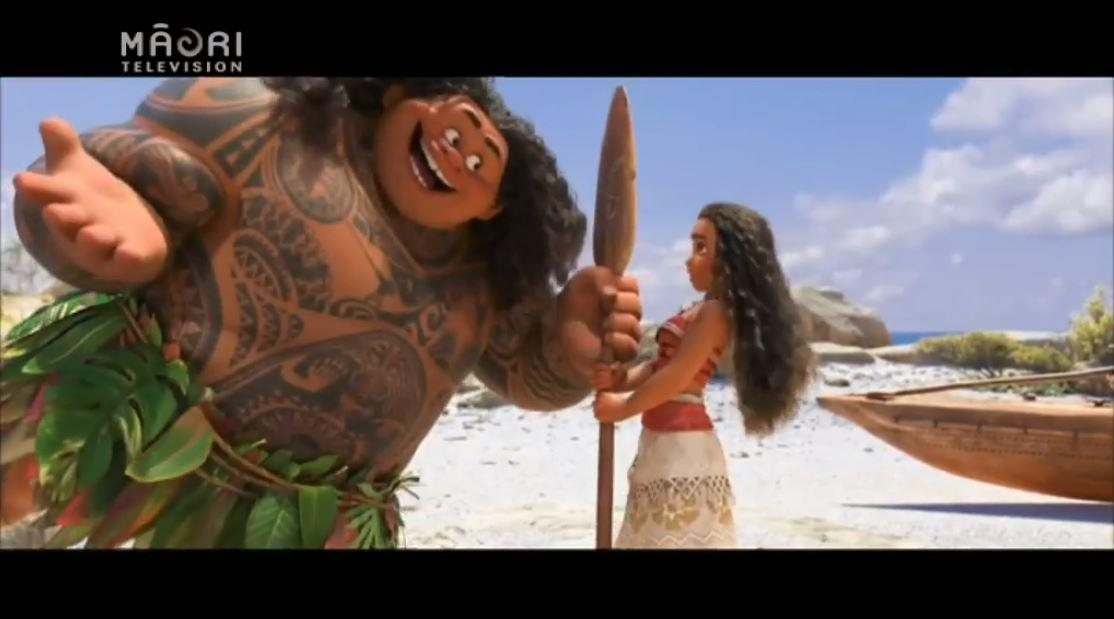 Video for Introducing the Māori voices of Moana and Māui!