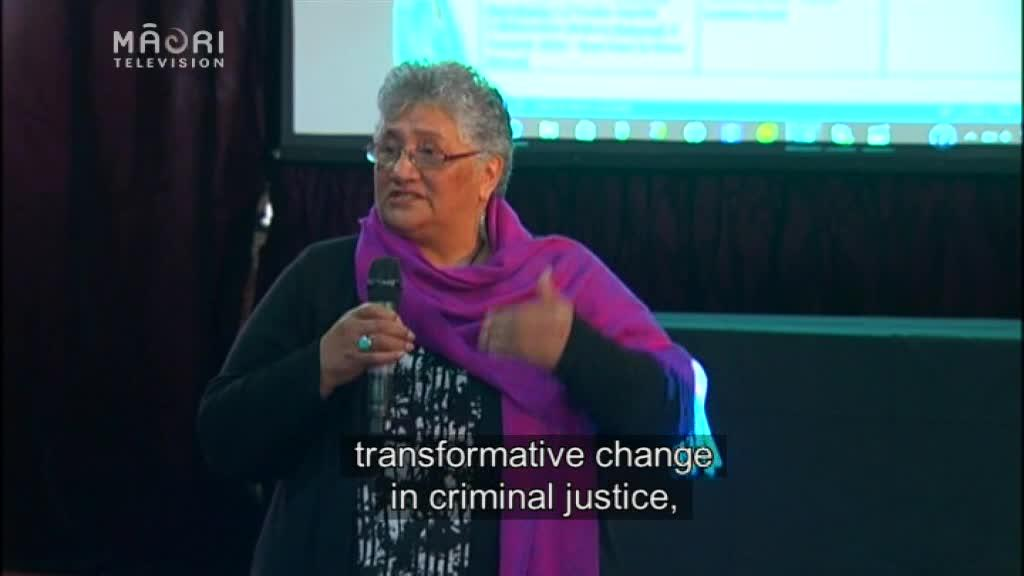 Video for Ex Māori inmate advocates for prison system change