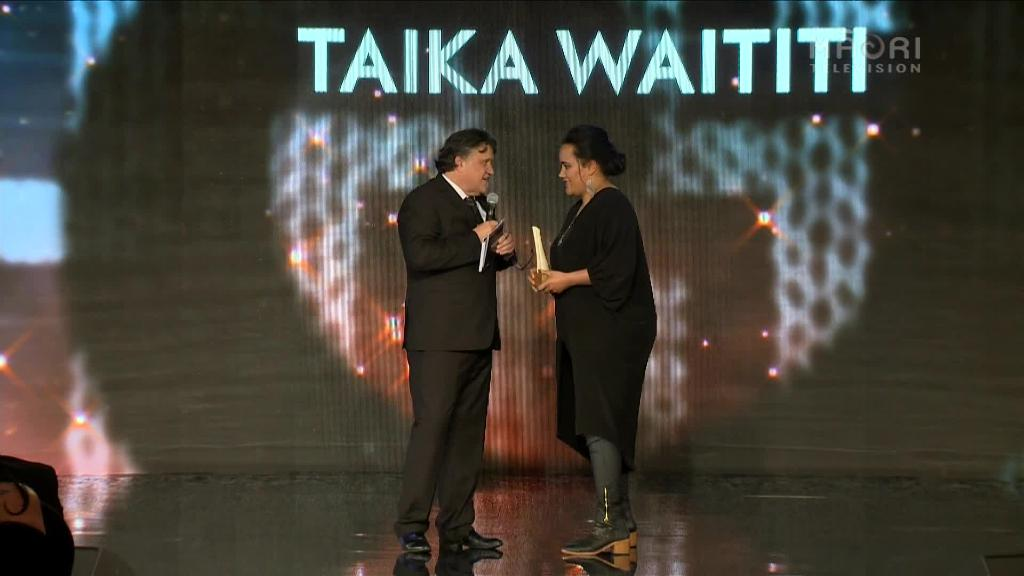 Video for Taika Waititi recognised for contribution to arts and entertainment