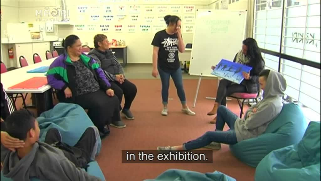Video for A new art exhibition to showcase turnaround of some Rotorua taiohi