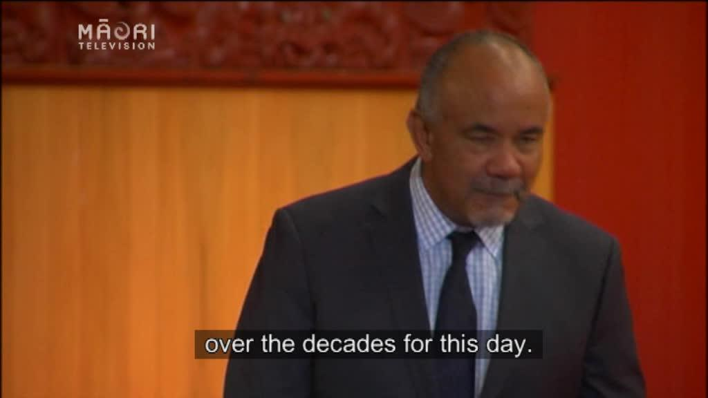 Video for Historic signing to transfer ownership of Te Puia to Te Arawa iwi