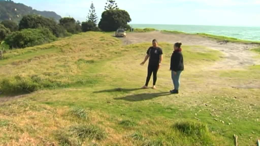 Video for Matatā residents fed up with P users littering in public spaces
