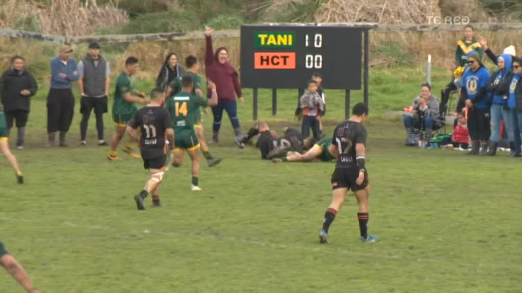 Video for Taniwharau clean sweep Waikato club rugby league championships