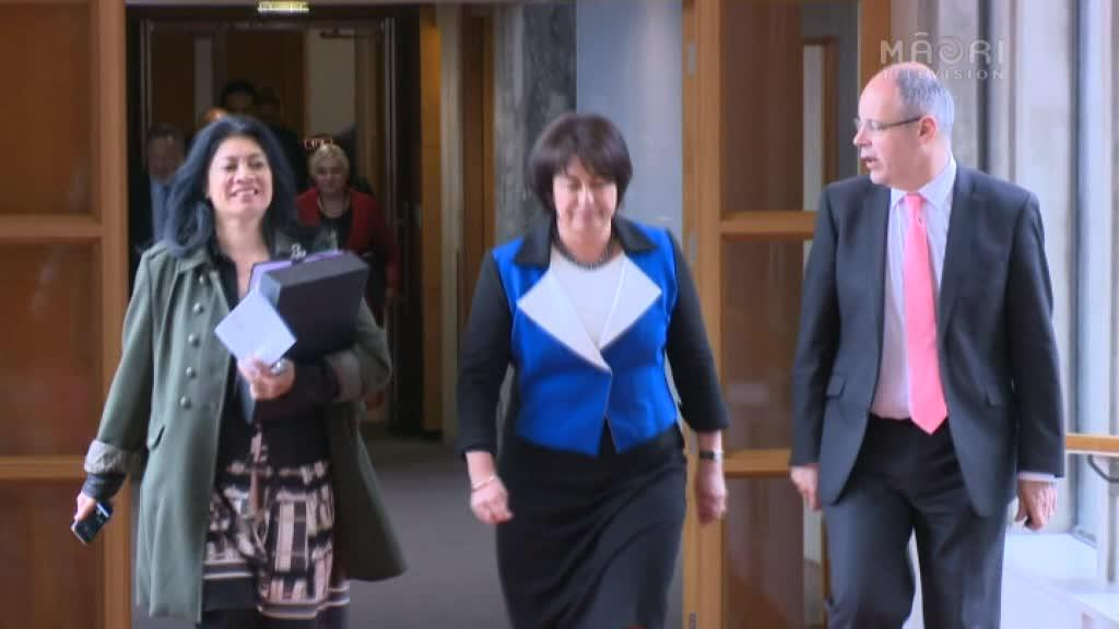 Video for Hekia Parata bids final farewell to Parliament